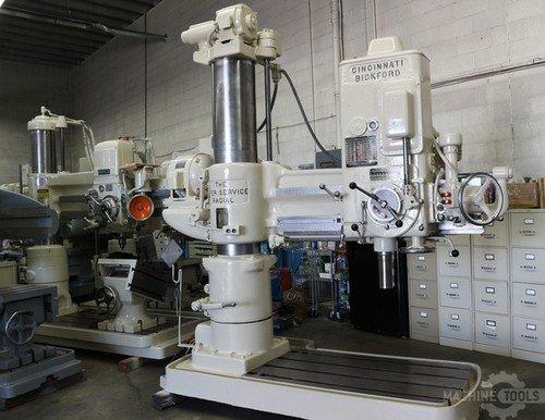 Cincinnati bickford 4x13 radial drill  6835 1