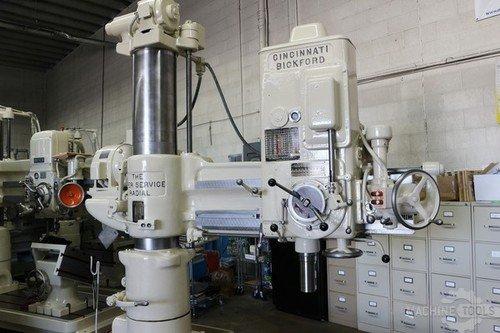 Cincinnati bickford 4x13 radial drill  6835 2