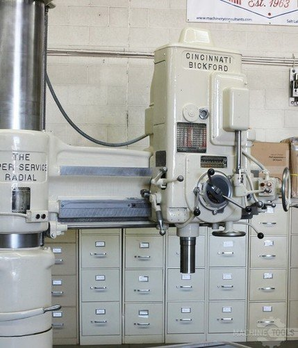 Cincinnati bickford 4x13 radial drill  6835 3