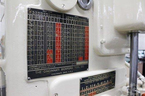 Cincinnati bickford 4x13 radial drill  6835 10