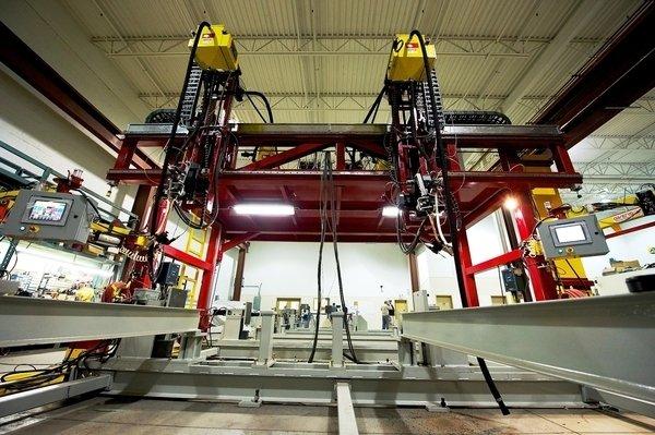 Bridge welding gantry system   structural steel irco automation