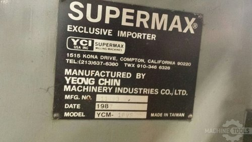 1987 supermax ycm 16vs  875  5
