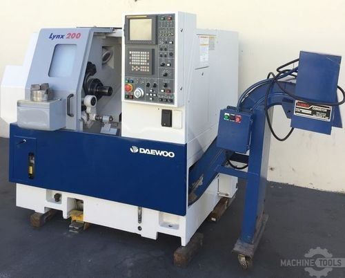 Used daewoo lynx 200 cnc turning