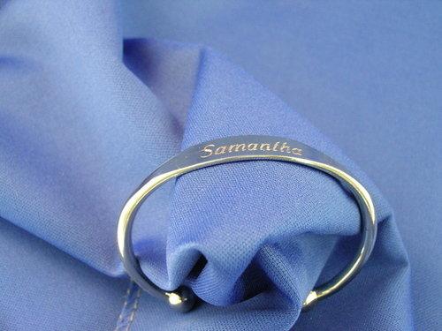 Diamond_engraved_silver_bracelet