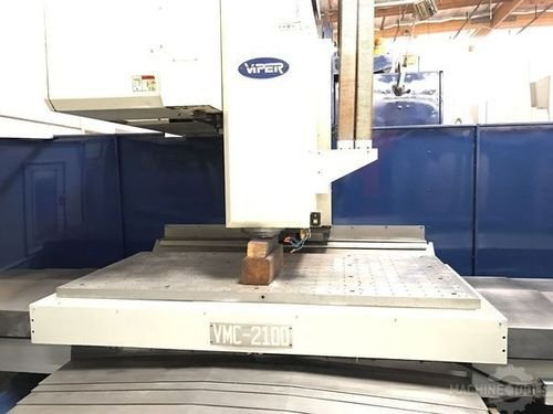 Used mighty viper machining center vertical 2100