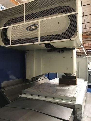 Used mighty viper machining center vertical