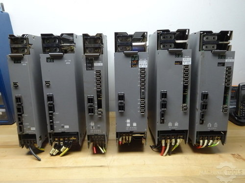 Power supply  servo amps