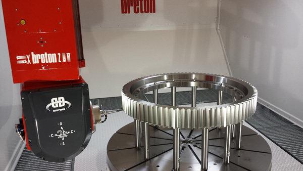 Breton matrix high speed machining center
