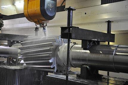 Breton flymill  high speed vertical machining center