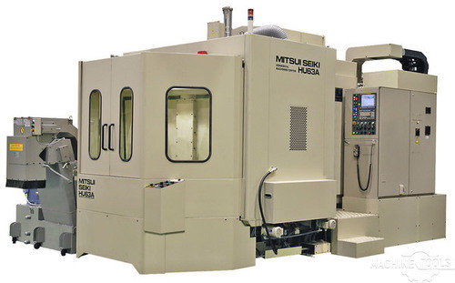 Mitsui seiki hu63ex 4 axis horizontal machining center  1