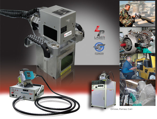 Handheld portable laser