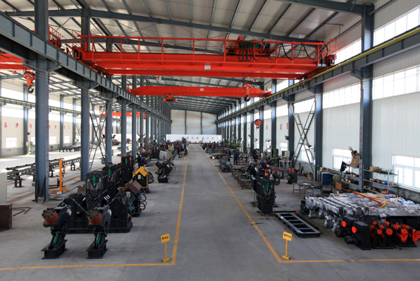 Cnc machine plant