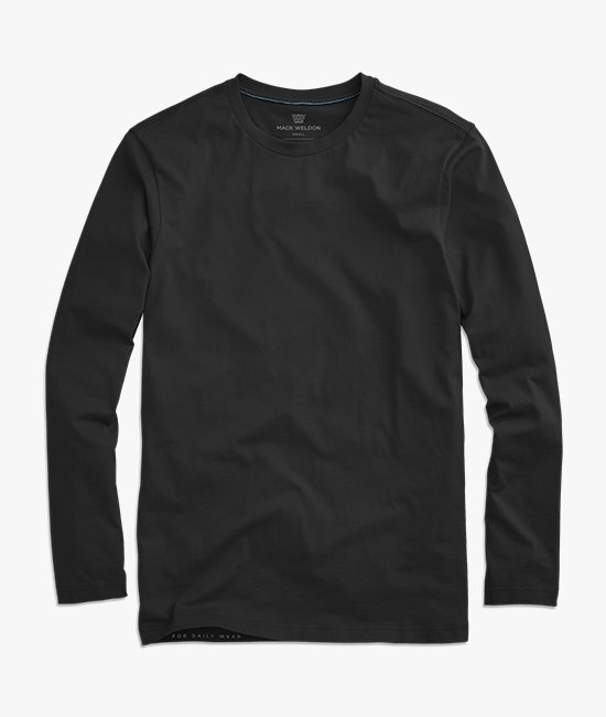 f4acfeb10178e0 Long Sleeve. Pima Long Sleeve T-Shirt