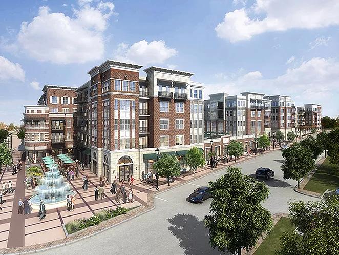 Development in Downtown Lisle