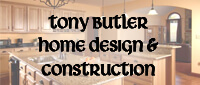 Website for Tony Butler Home Design & Construction
