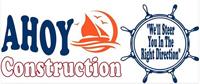 Website for Ahoy Construction, Inc.