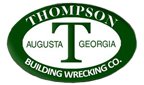 Website for Thompson Building Wrecking Co., Inc.