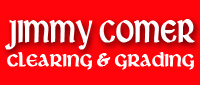 Website for Jimmy Comer Clearing & Grading
