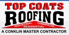 Website for Top Coats Roofing