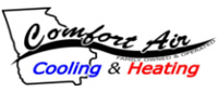 Website for Comfort Air Cooling & Heating