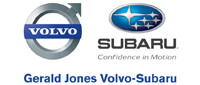 Website for Gerald Jones Subaru/Volvo