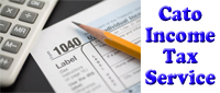 Website for Cato Income Tax Service