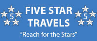 Website for Five Star Travels Inc.