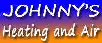 Website for Johnny's Heating and Air