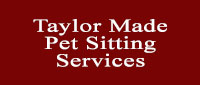 Website for Taylor Made Pet Sitting Service