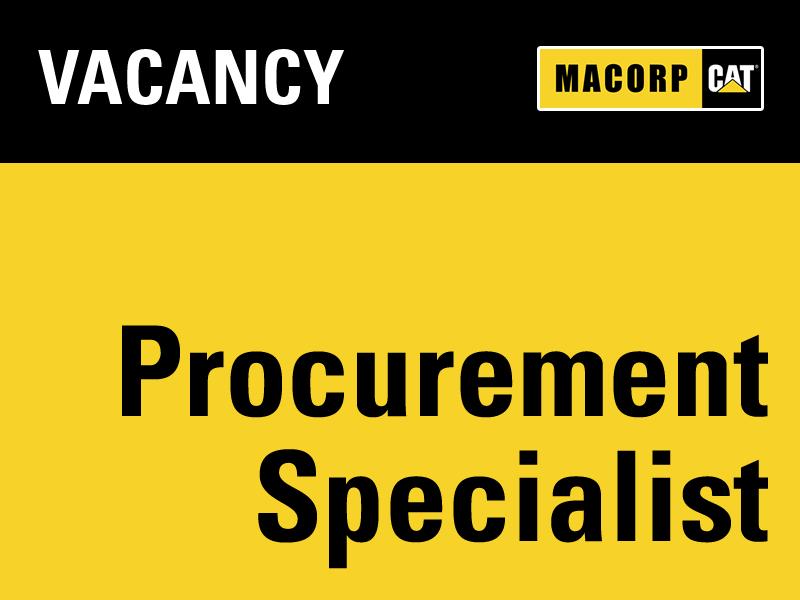 Vacancy Procurement Specialist