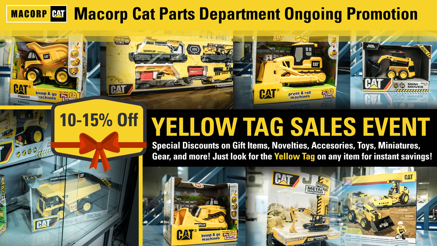 Macorp Yellow Tag Sales Event
