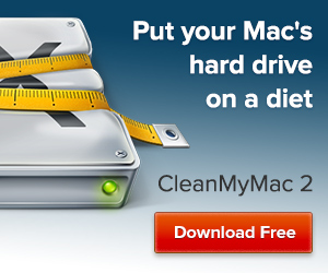 CleanMyMac 2 Hard Drive Diet