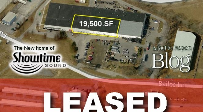 MacRo Assists Tenant in Leasing Office/Warehouse Space on Bailes Lane