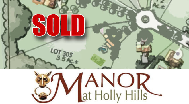 MacRo Sells 3.49 Acre Lot at the Manor at Holly Hills
