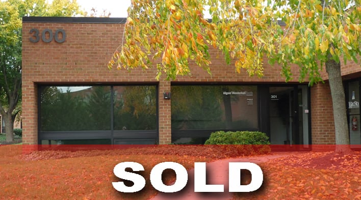 MacRo Brokers Sale of Frederick Corner Office Condominium