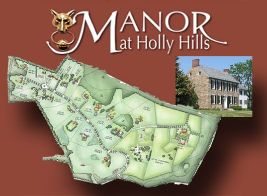 21 Building Lot Community: MacRo Announces New Website for the Manor at Holly Hills