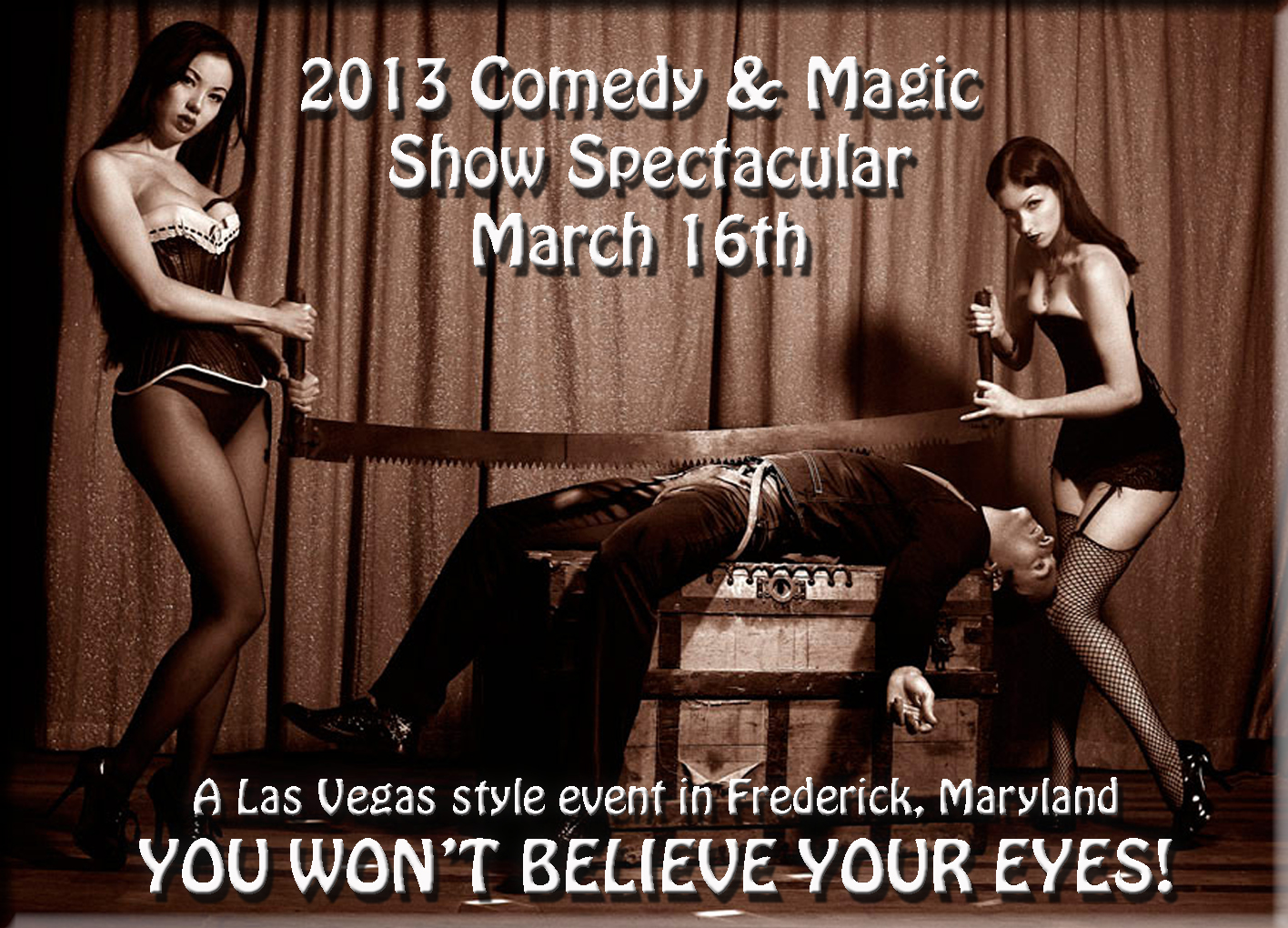 2013 Comedy and Magic Show Spectacular