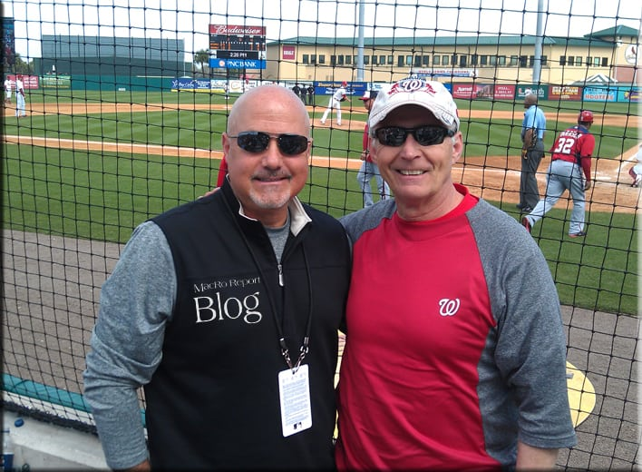 Nationals Mike Rizzo and Rocky Mackintosh