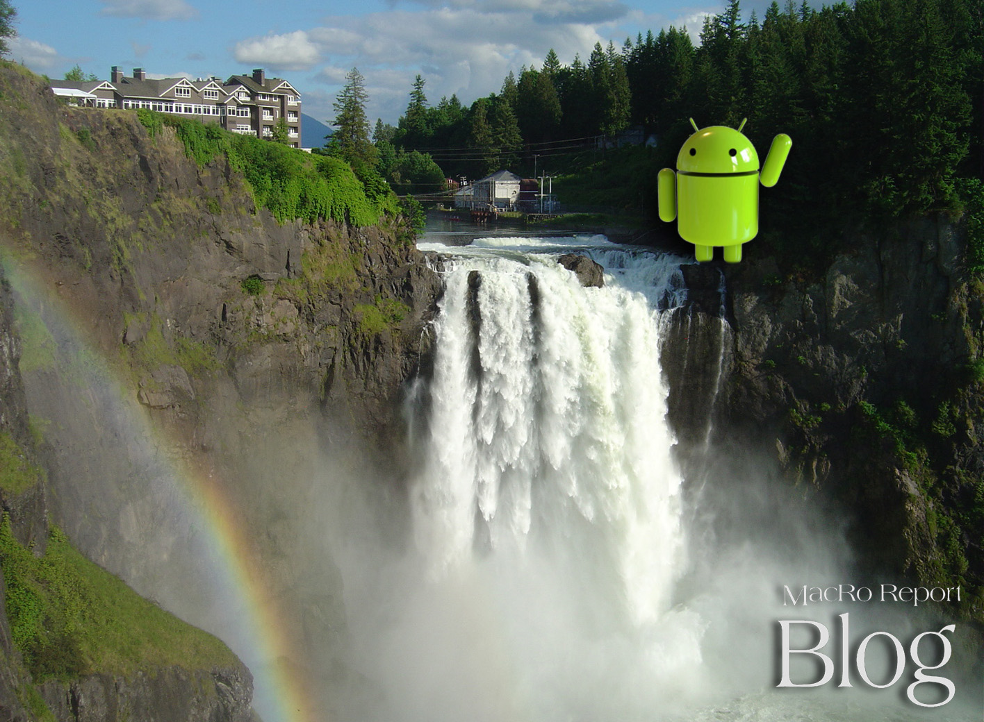 I Left My Droid at Snoqualmie Falls