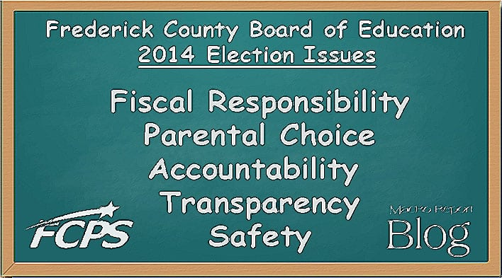 Frederick County Board of Education Candidate Primary Election Endorsements 2014