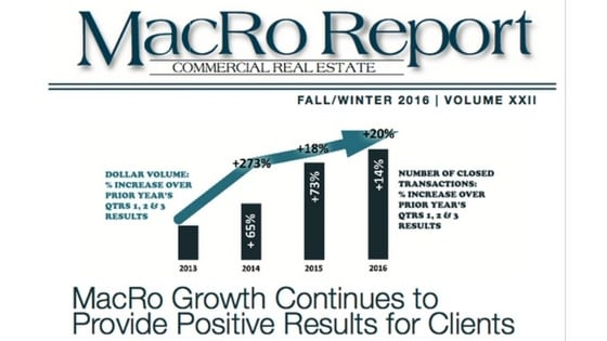 MacRo's Fall/Winter 2016 Newsletter