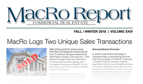 fall 2018 macro report macro ltd logs two unique sales transactions
