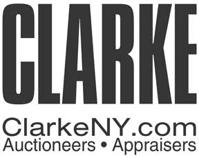 Clarke Auction logo