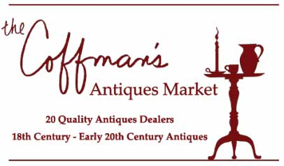 The Coffman's Antiques Market in Lenox logo