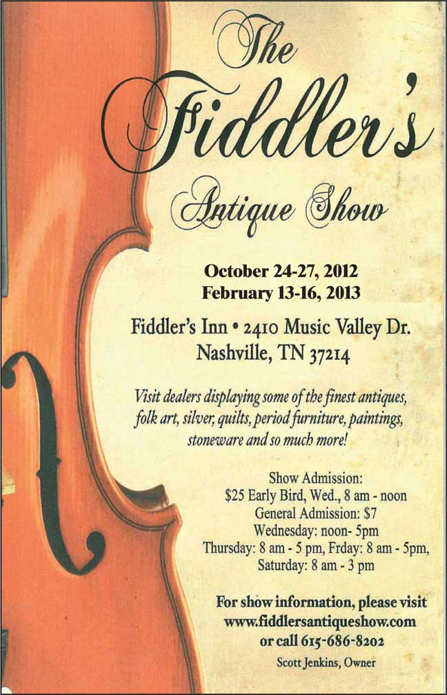 The Fiddler's Antique Show