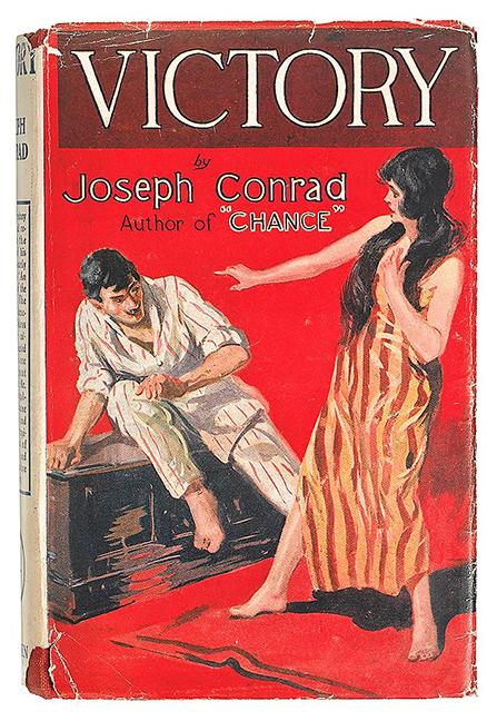 Joseph Conrad - Victory. First U.K. Edition, The Bookworm, $4000