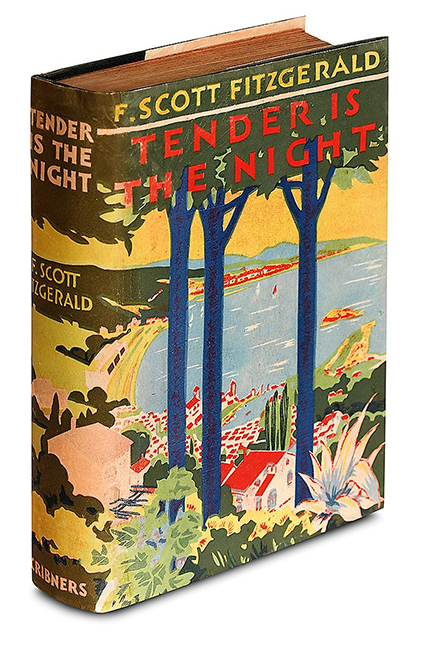 F. Scott Fitzgerald - Tender Is The Night. First Edition, C. Rose Books, $5500