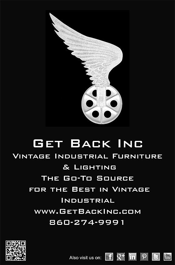 Get Back, Inc. Vintage Industrial Furniture & Lighting