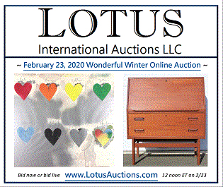 Lotus Auctions Wonderful Winter Online Auction