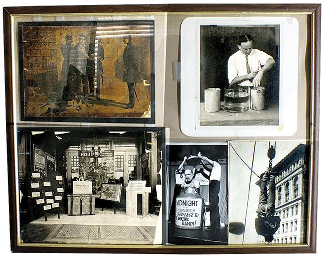 Magic - pictures & negative Houdini